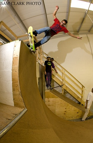Cape Town 100827. Sport Unlimited Ramp Jam. PHOTO SAM CLARK
